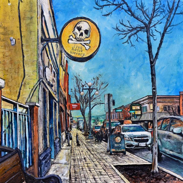 Main Street, Ellensburg by Cameron Wilson
