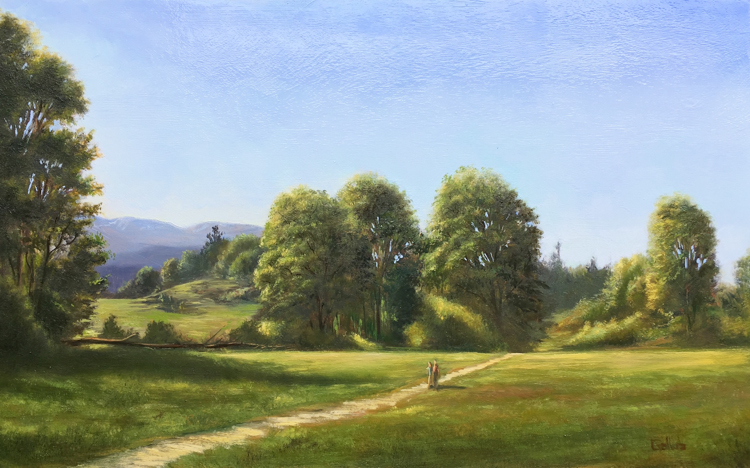 May Afternoon, Discovery Park by Frankie Gollub