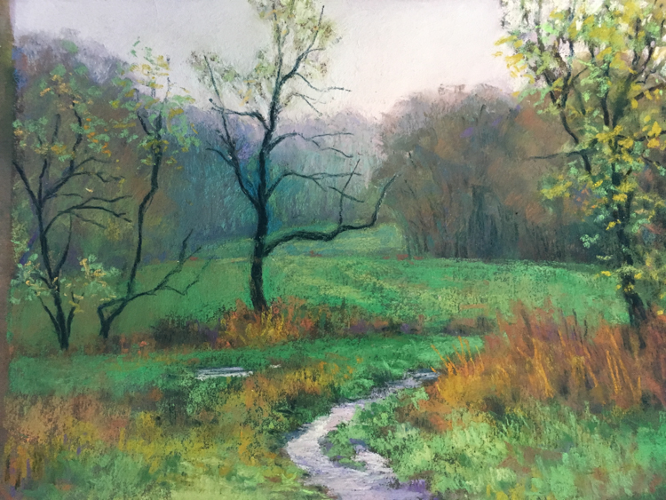 Meandering by Annette Hanna