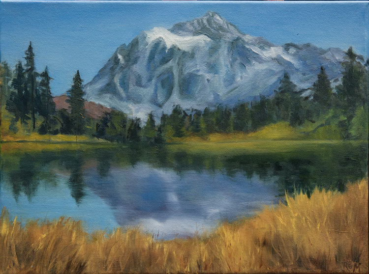 Mt. Shuksan by Ruth Maupin