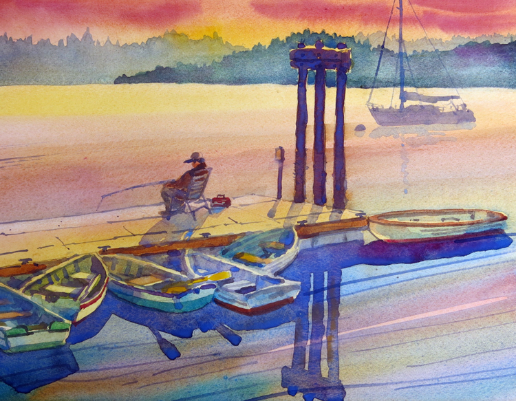 Port Hadlock Fisherman by James McFarlane