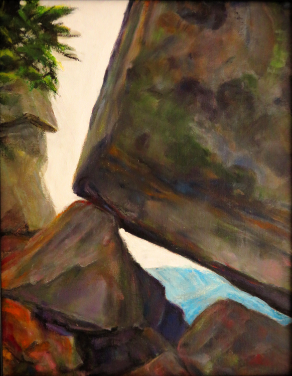 Rocks on Mt. Pilchuck by Jannelle Loewen