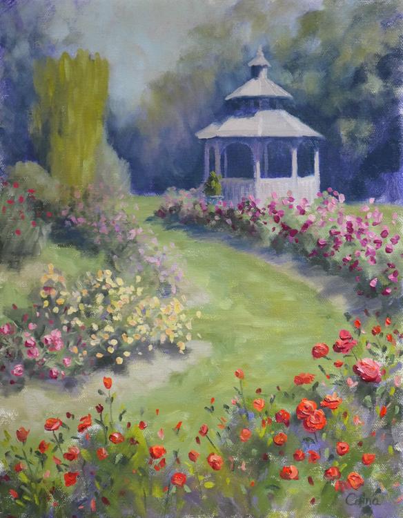 Rose Garden by Corina Linden