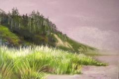 Beach Cliffs by Sally Abbey