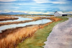 Indian Slough by Eileen McMackin