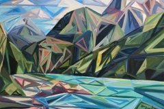 Triangulate in Turquoise (Diablo lake) by Brooke Borcherding