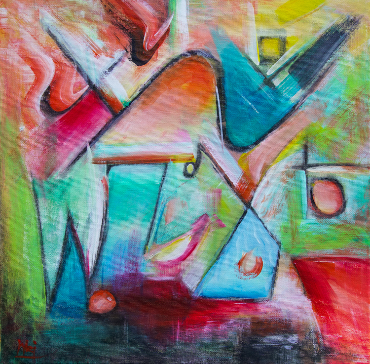 Málaga Abstract III by Silena Wei Chen
