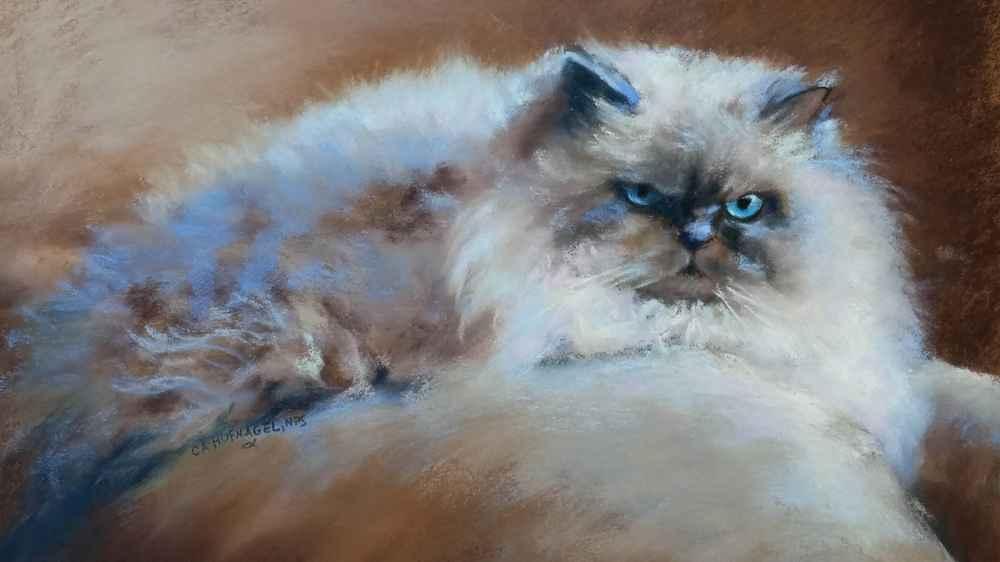 Web Cuddles_CherylAHufnagel_soft pastel_$250