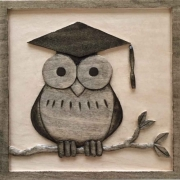 Web Graduation Owl by Naomi Schneider  $45