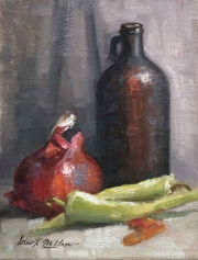 Web Still-life with hot pepper oil-Irina Milton