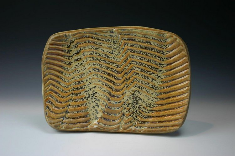 Web Wave Plate by Penny Berglund