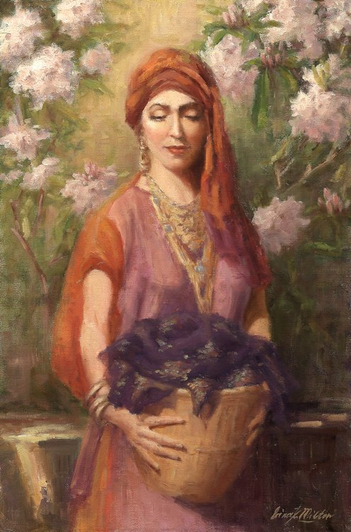 Web Flowers in the Temple-Irina Milton