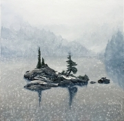 Web Ben Tuck Lake, Early Snow 2018