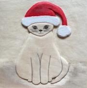 Web Christmas Cat - Naomi Schneider