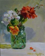 Web End of Summer Bouquet - Delores Haugland