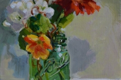 Web End of Summer Bouquet - Delores Haugland