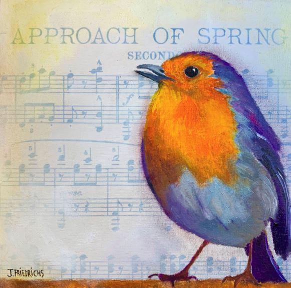 Approach of Spring by Johanne Friedrichs $115 - SOLD