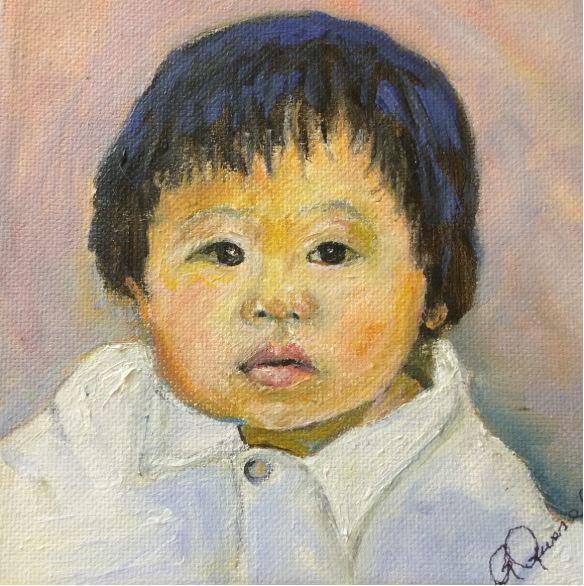Asian Child by Ruth Russell $50