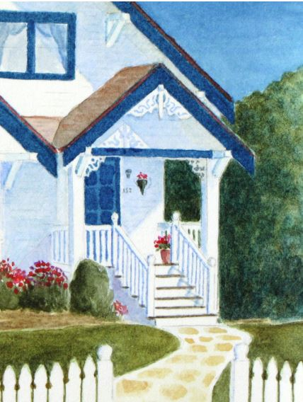 Blue Porch by Roger Baker $125