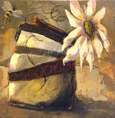 Busy Bee I by Lyla Jacobsen $325