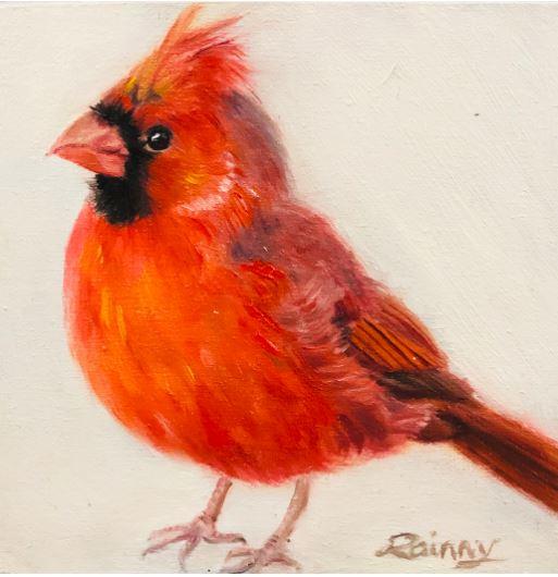 Cardinal by Rainny Zhao $180