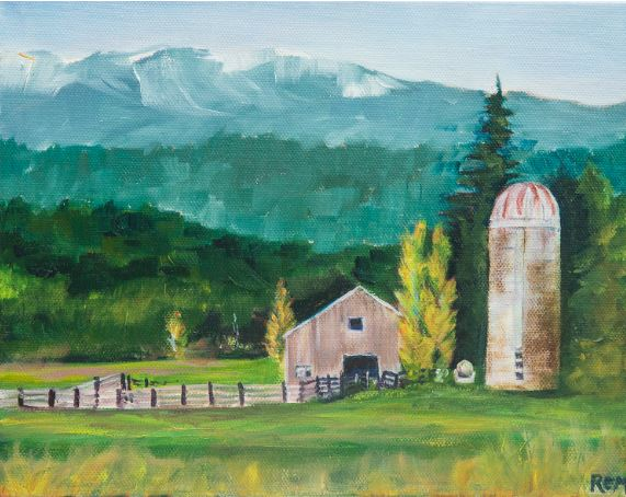 Chimacum Valley by Ruth Maupin $135