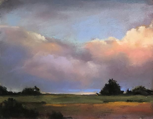 Cotton Candy Clouds by Vicki Johnson $160 - Sold