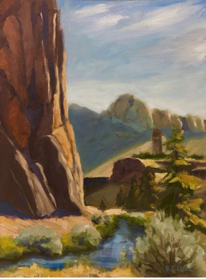 Crooked River by Kathleen Ritz $375