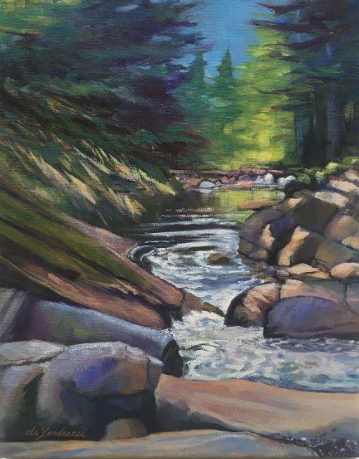 Denny Creek by Sarah deLendrecie $250