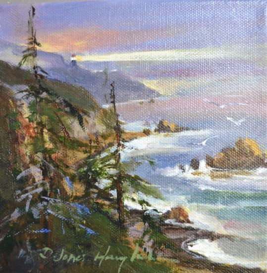 Distant Light by Delores Haugland $120