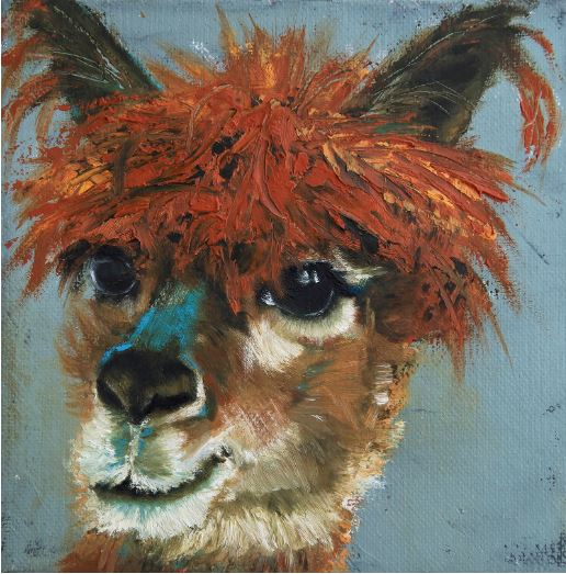 Easy Breezy Beautiful - Bad Hair Day Series by Jani Freimann $250