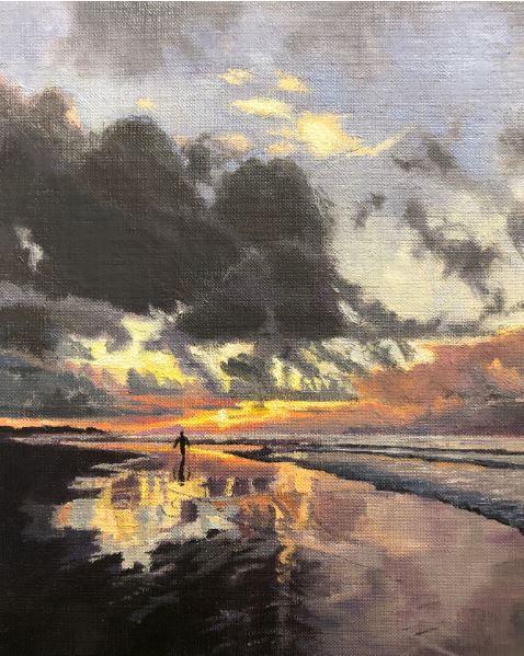 Emerald Isle Sunrise by Katherine Richards $350