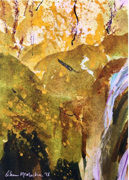 Fall at Plitvice Lakes by Eileen McMackin $125