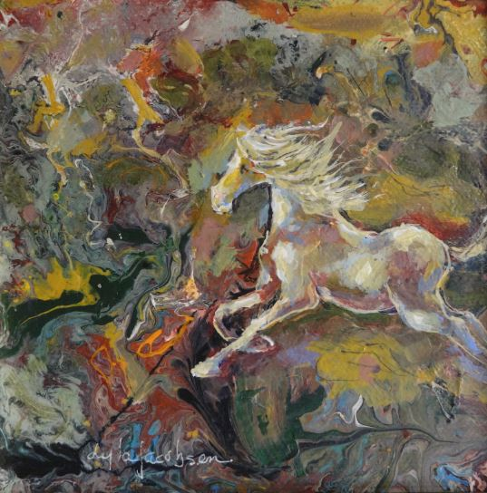 Fantasy Romp by Lyla Jacobsen $185