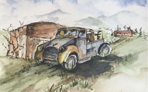 Full Load by Judy Dougherty $100