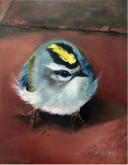 Golden Crowned Kinglet by Mary Morris $500