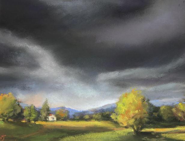 Golden Hour by Vicki Johnson $140