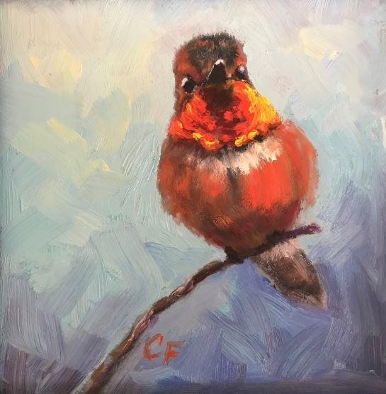 Hummingbird by Christine Forcucci $110