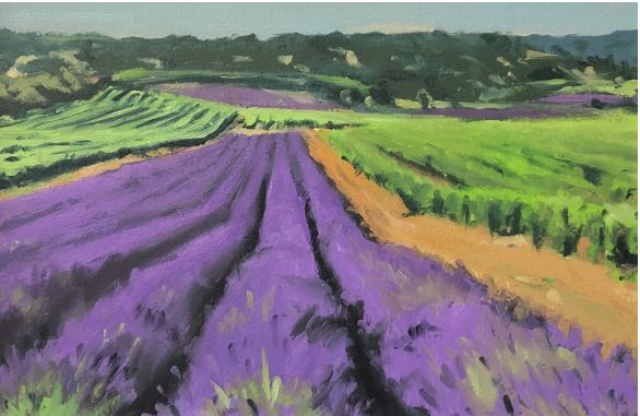 Into The Valley by Glen Kessler $400