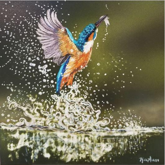 King Fisher by Lisa Kaplan $375