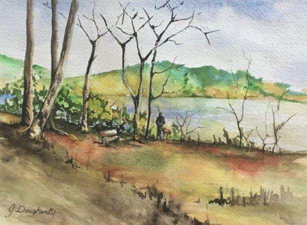 Lake View by Judy Dougherty $120