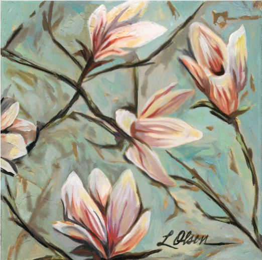 Magnolia #6 by Laurie Olsen $200