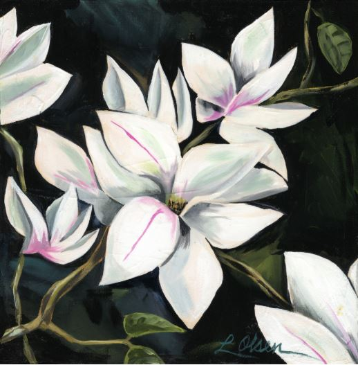 Magnolia #8 by Laurie Olsen $200