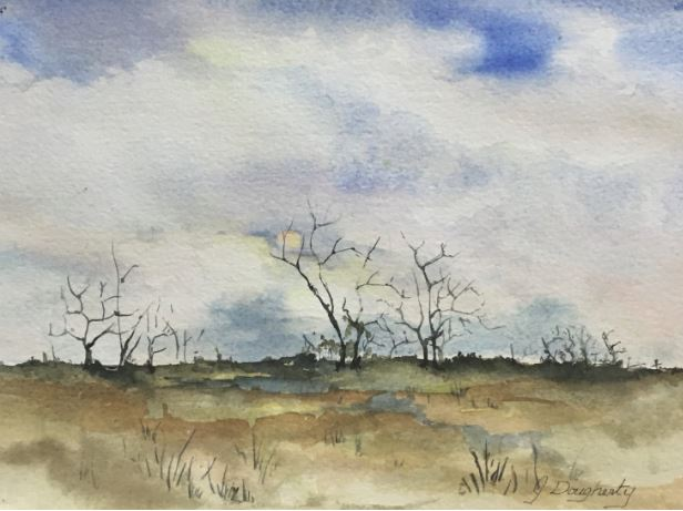 Moon Rising by Judy Dougherty $120