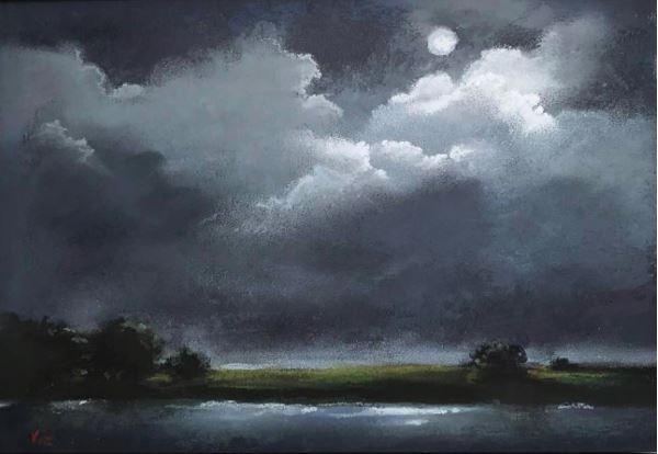 Moonlight Sonata by Vicki Johnson $160