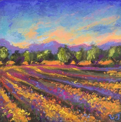 Neon Fields by Vicki Johnson $120