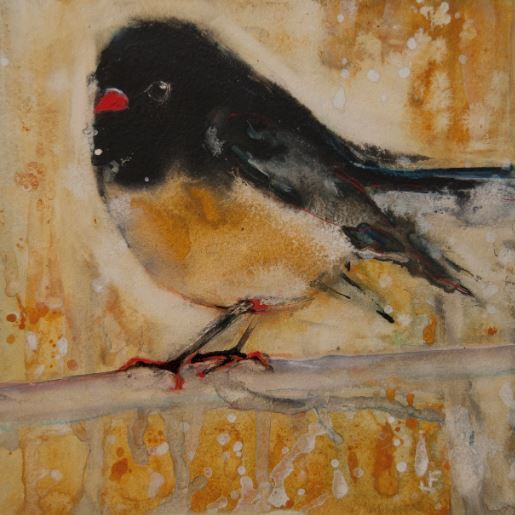 Out On A Limb With Orange Feet by Jani Freimann $250