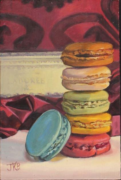 Petite Stack of Macarons by Jennifer Barlow $275