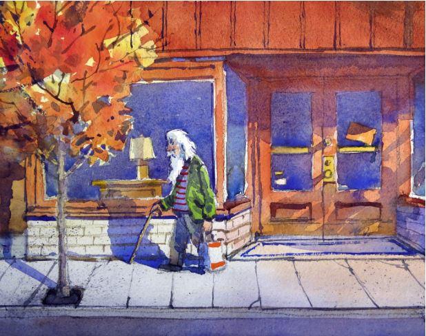 Phinney Ridge Fall by James McFarlane $175