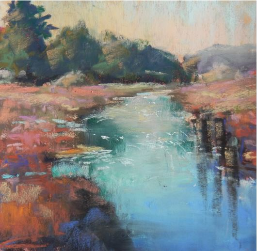River Impressions by Deborah Henderson $175